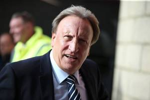 neil warnock reveals when kenneth zohore could return from ankle injury as cardiff city boss lauds players' character against middlesbrough