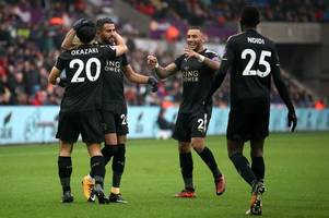 swansea city 1 leicester city 2: awful first half display proves costly as swans suffer more home misery