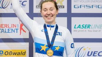 European Track Championships 2017: Katie Archibald defends omnium title to win second gold