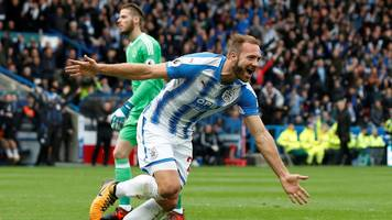 Huddersfield Town 2-1 Manchester United
