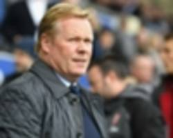 Everton 2 Arsenal 5: Koeman on the brink as hosts capitulate