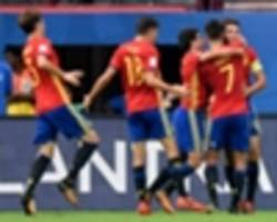 u17 world cup: undue respect for spain scuppers iran