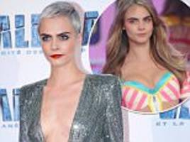 cara delevingne reveals she modelled to avoid her problems
