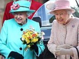 why the queen only carries money on sundays