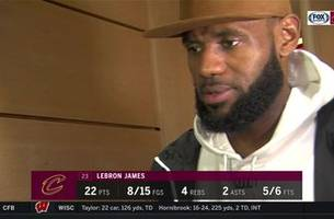 lebron james says the cavs are still figuring out their identity
