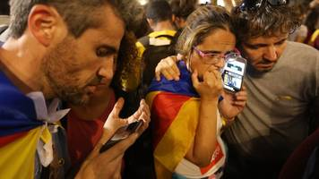 Spain Catalonia: Foreign minister denies 'coup' by Madrid