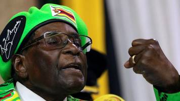 WHO chief 'rethinking' Robert Mugabe's appointment