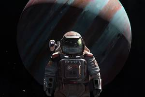 space that never was is one artist's vision of a never-ending space race