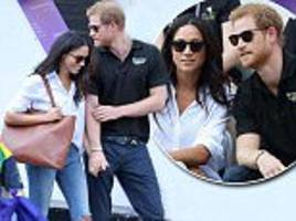 prince harry and meghan markle 'can't bear to be apart'