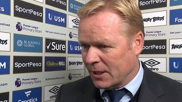 Everton 2-5 Arsenal: Toffees not performing well - Ronald Koeman