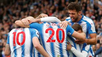 which huddersfield 'street fighters' made garth's team of the week?