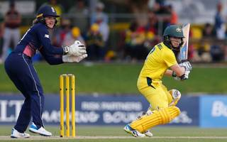 england beaten by australia in first women's ashes clash
