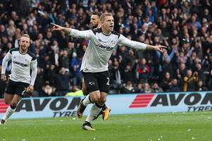 match verdict: a stop-start display from derby county but result continues to reign as king