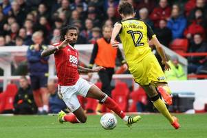 nottingham forest boss mark warburton gives injury update on reds defender armand traore