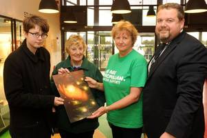 Scunthorpe student's artwork chosen for this year's Light Up A Life remembrance handbook