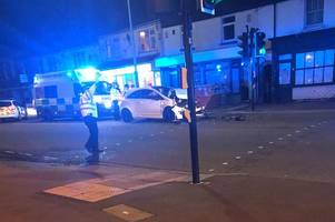 'There was a loud bang' - emergency crews rush to 'very bad crash' in Lincoln