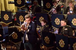 Watch Godalming students fill in for professional army band musician and perform with 'up-and-coming' jazz star