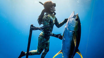 Freediver Kimi Werner talks travel, self-worth and slowing down; podcast