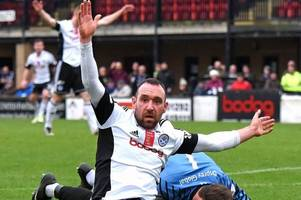 ayr united striker michael moffat hits the ton in win over forfar athletic
