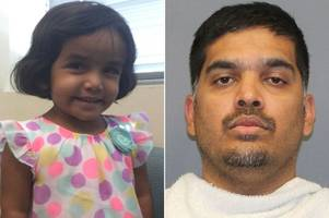 body of girl, 3, found weeks after dad 'made her stand outside as punishment for not drinking milk'