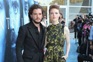 Game of Thrones star on why he won't pose for photos with Scots fiancée Rose Leslie