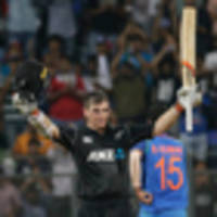 cricket: black caps cruise to victory over india in first odi