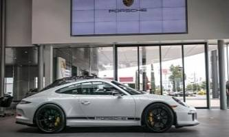 flawless porsche 911 r for sale with just 24 miles on the clock