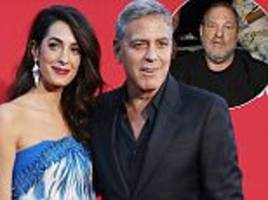 george clooney reveals amal has faced sexual harassment