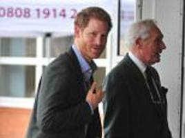 Prince Harry begins a busy day of visits in Lancashire