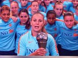 lieke martens crowned the best fifa women's player