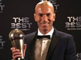 zidane: 'i don't know how much longer i'll be madrid boss'