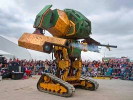 Think the robots on Robot Wars are mean? Meet Mark - built to destroy cars