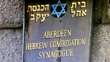 aberdeen synagogue saved from closure after flood damage