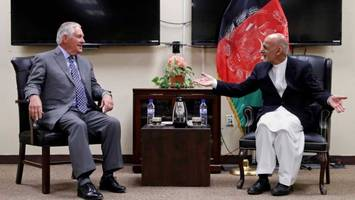rex tillerson makes secret visit to afghanistan