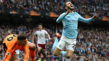 man city: bernardo silva avoids fa charge over penalty incident v burnley