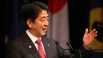 japanese pm shinzo abe vows 'countermeasures' against north korea