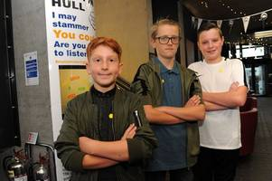 three inspirational youngsters share their stories about life with a stammer