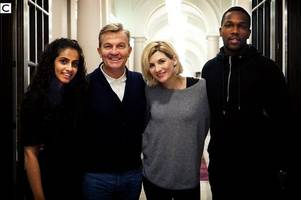 bradley walsh officially named as one of new doctor who companions