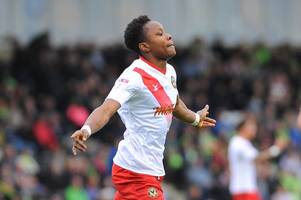 newport county boss makes claim about shawn mccoulsky after bristol city striker's superb form