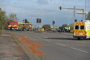 fire engine involved in fatal crash near fosse park was not on its way to emergency
