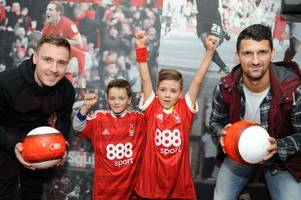 special day for nottingham forest-mad youngsters as they get to meet their heroes