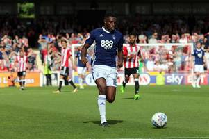 mustapha carayol stakes his claim for a recall with strong display for nottingham forest under-23s at crewe
