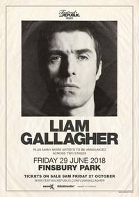 liam gallagher to play finsbury park show
