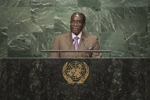 zimbabwe urges un reforms after mugabe is stripped of honorary title