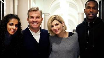 doctor who: bradley walsh among new cast members
