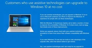 Windows 10 Still Offered as Free Upgrade After Fall Creators Update Launch