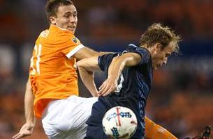 sporting kc to play at houston in first-round playoff match thursday
