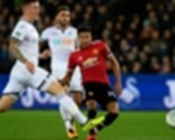 swansea city 0 manchester united 2: lingard double gets red devils back on track