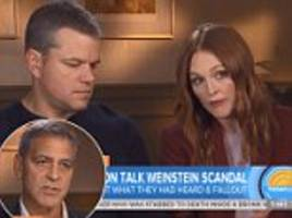 george clooney: who took young women to harvey weinstein?