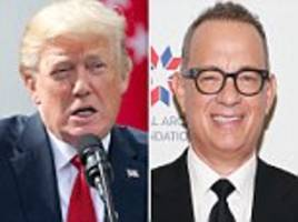 tom hanks calls trump's call to gold star widow 'c**k-up'